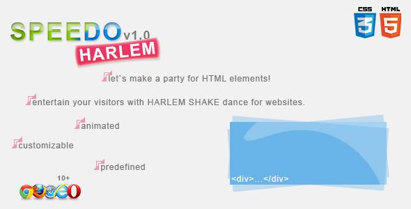 CodeCanyon Speedo Harlem Meme Shake Generator 4119290