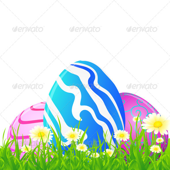 GraphicRiver Easter Greeting Card 4119791