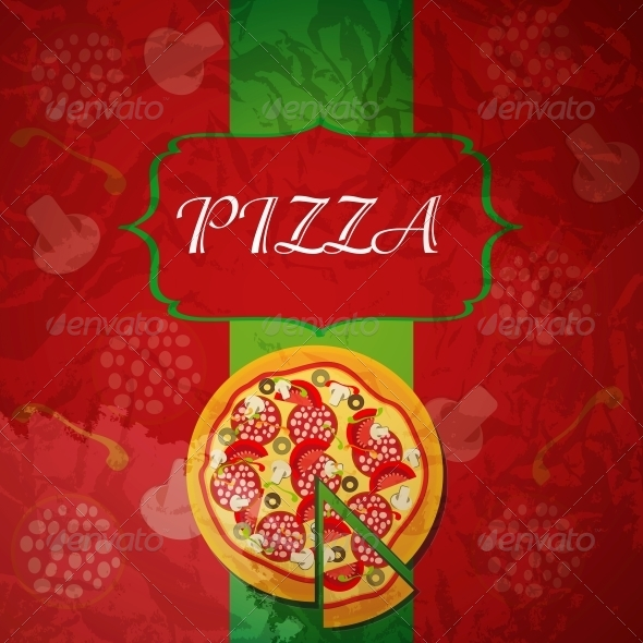 GraphicRiver Pizza Menu Template 4119939