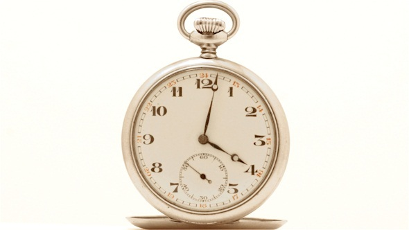 Pocket Watch Timelapse