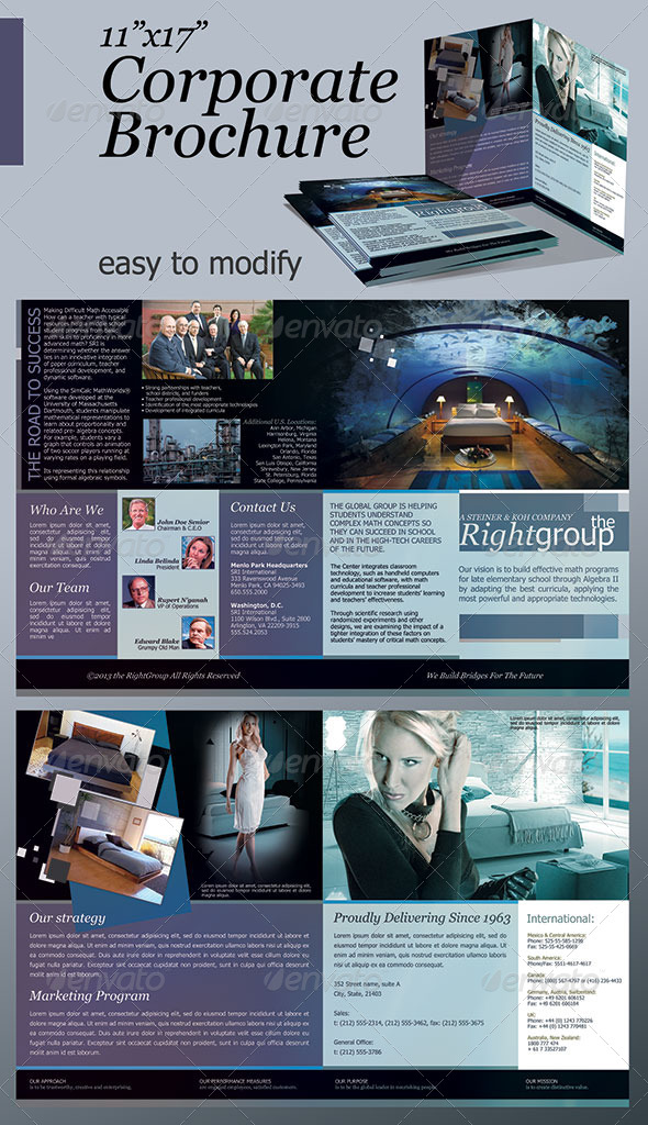 GraphicRiver 11 x17 Corporate Brochure 4120176