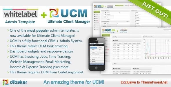 ThemeForest UCM Theme White Label 4120556