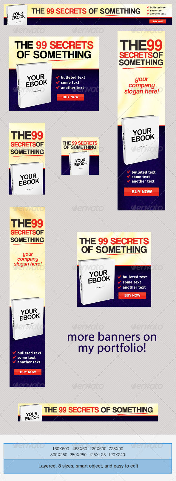 GraphicRiver Buy Ebook PSD Banner Ad Templates 3982085