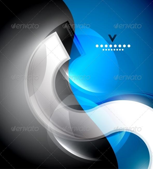 GraphicRiver Digital Wave Design Template 4121573