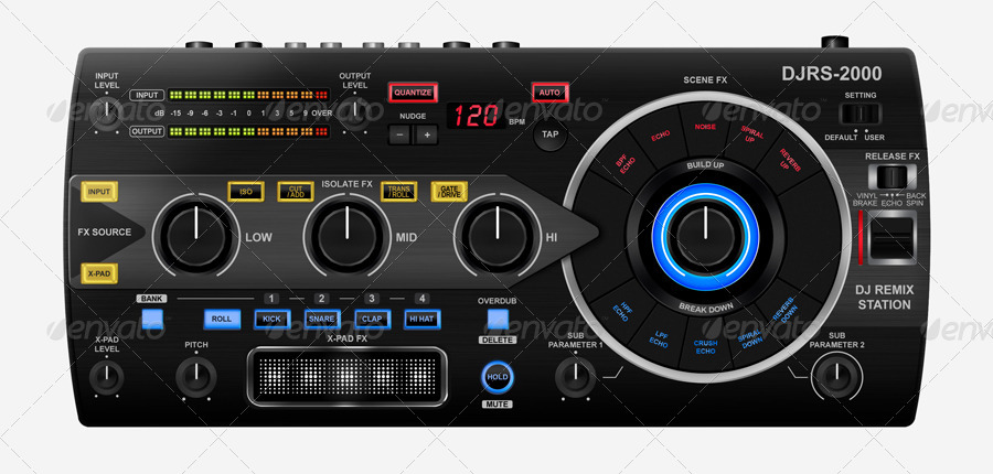 DJ Remix Station UI