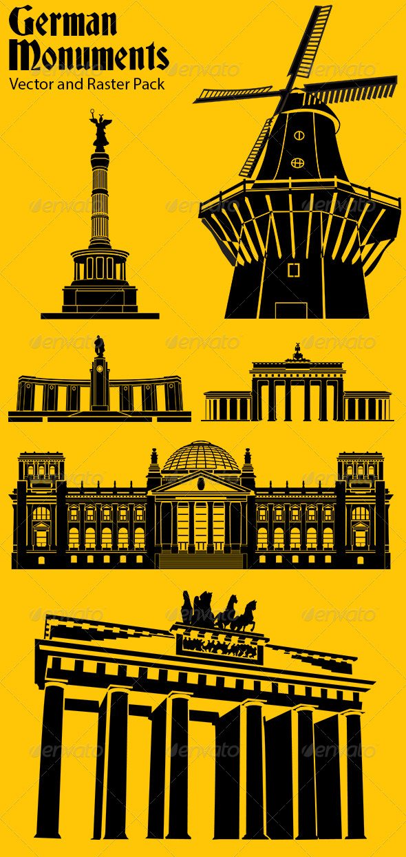 GraphicRiver German Monuments 4122367