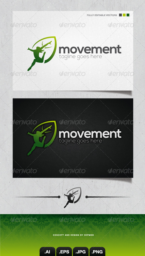 GraphicRiver Movement Logo 4052997