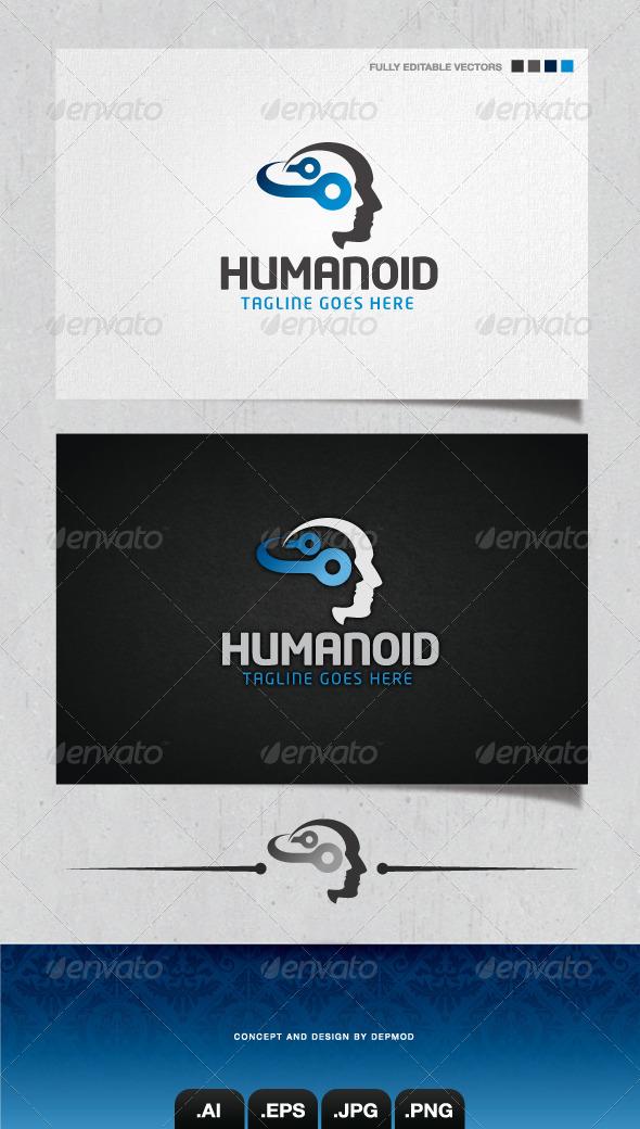 GraphicRiver Humanoid Logo 4053609