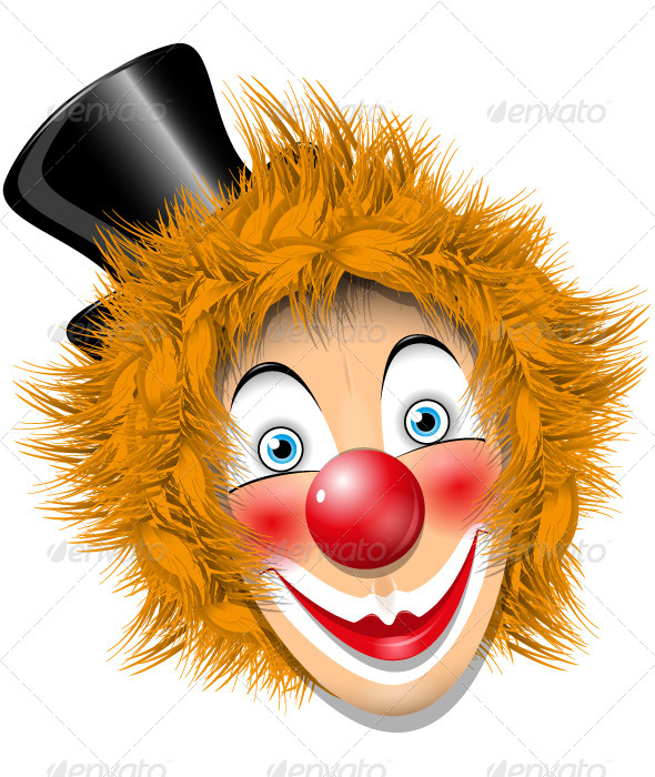 GraphicRiver Redheaded Clown 4122911