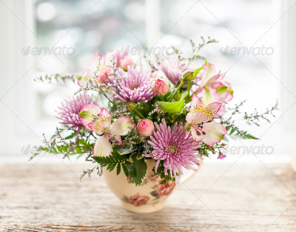 Flower arrangement - Stock Photo - Images