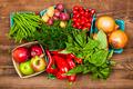 Market fruits and vegetables