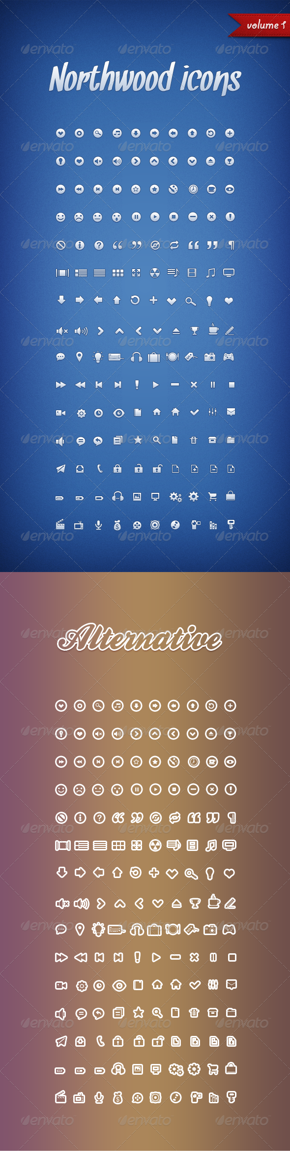Northwood Icons Volume 1 - Web Icons