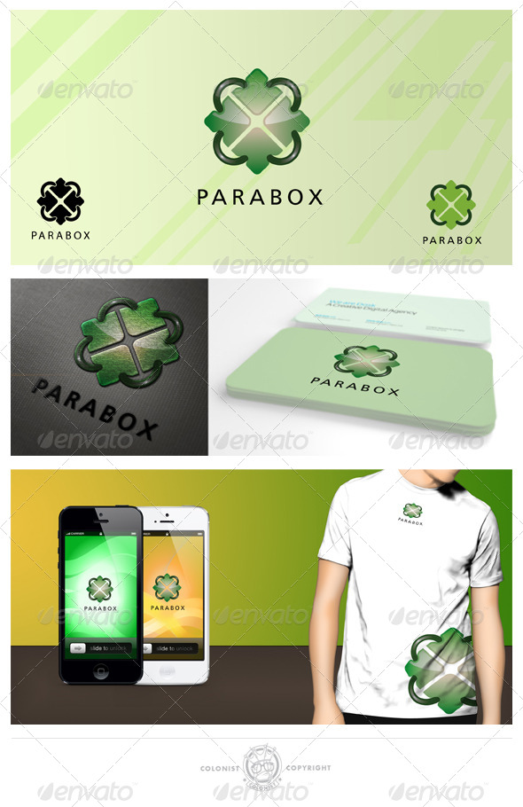 GraphicRiver Parabox Logo 4038166