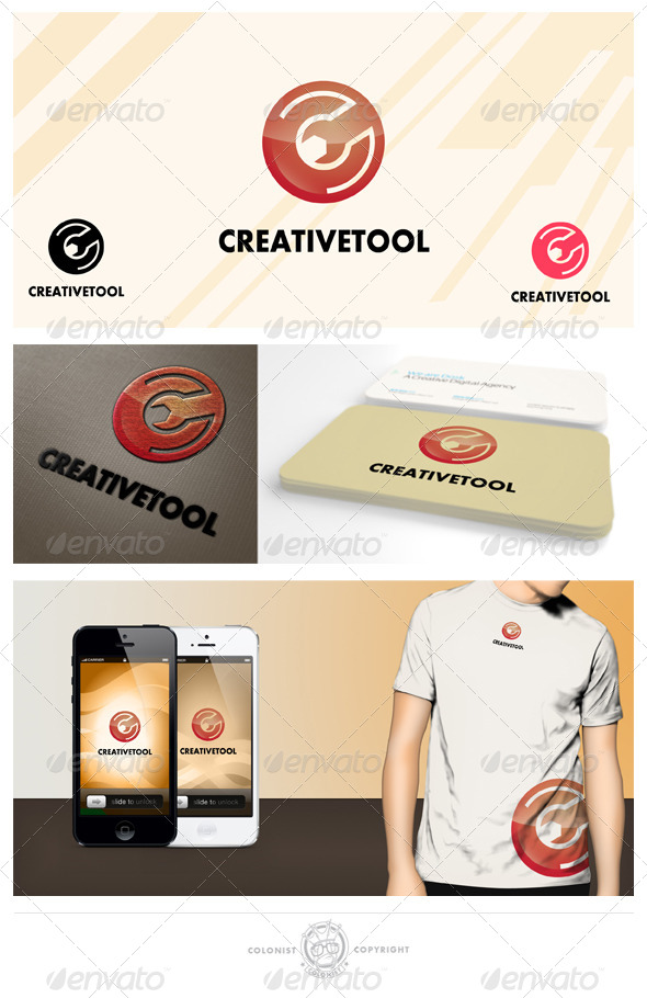 GraphicRiver Creative Tool Letter C Logo 4038176