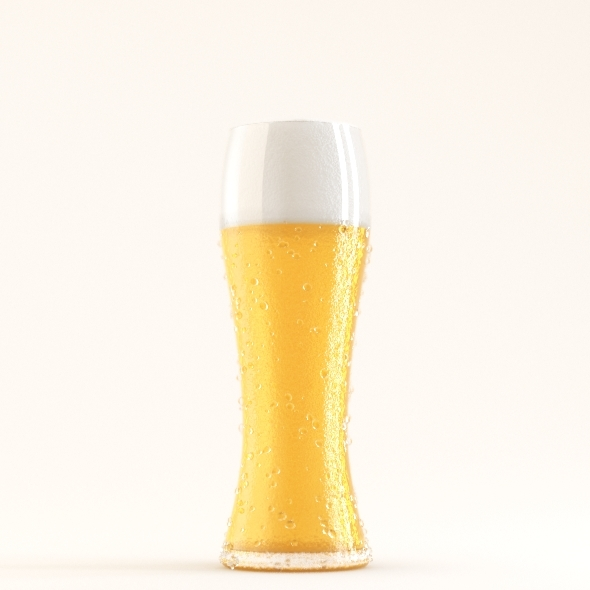 Professional Beer Glass Studio - 3DOcean Item for Sale