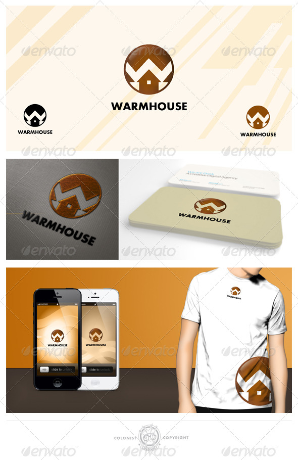 GraphicRiver Warmhouse Logo 4038173