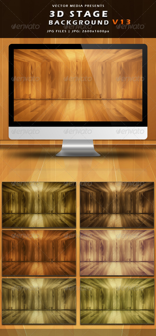 GraphicRiver 3D Stage Background Vol.13 4123649