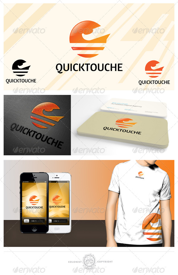 GraphicRiver Quicktouche Logo 4038183