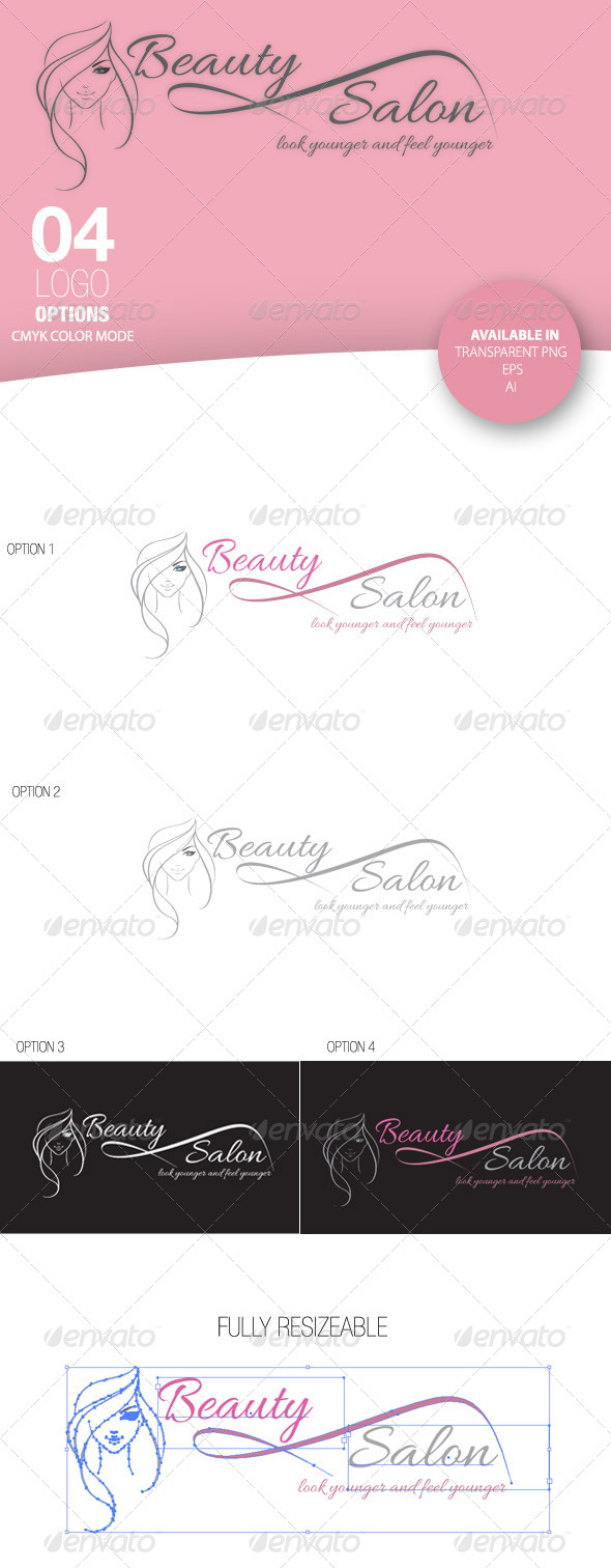 GraphicRiver Beauty Salon Logo 4124041