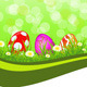 Greeting Easter background - GraphicRiver Item for Sale