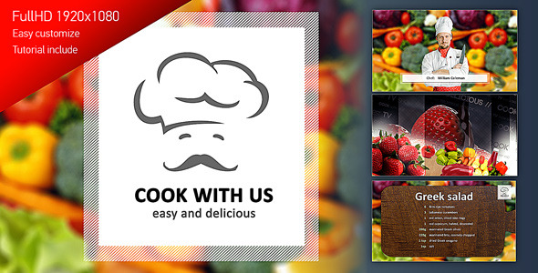 Cook With Us Cooking TV Show Pack