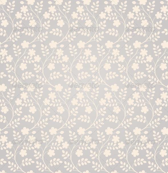 GraphicRiver Elegant Seamless Floral Pattern 4125864