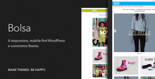 ThemeForest Bolsa A Responsive WordPress E-commerce Theme 4126474