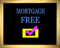 Mortgage Free In Blue - PhotoDune Item for Sale
