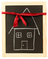Ribbon House Chalkboard - PhotoDune Item for Sale