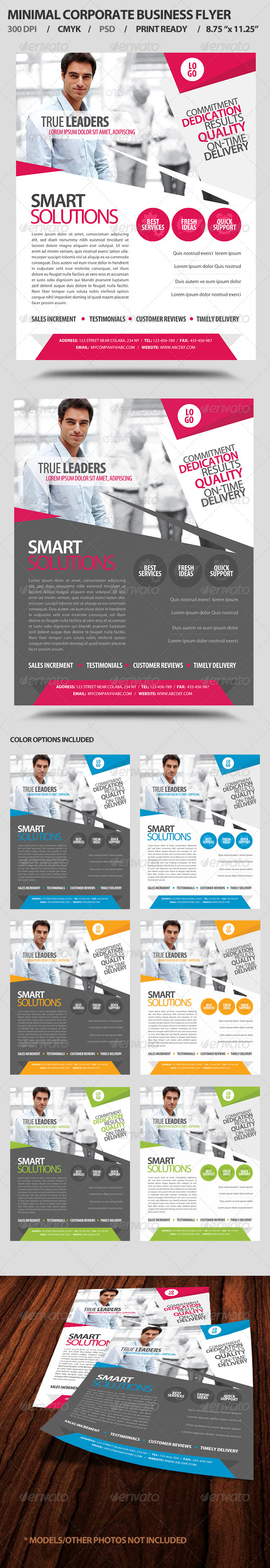 GraphicRiver Minimal Corporate Business Promotion Flyer 4126761