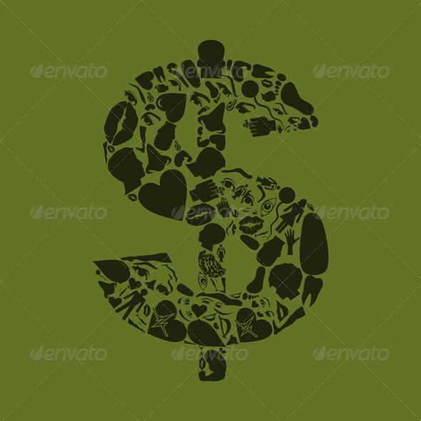 GraphicRiver Body Dollar 4126848