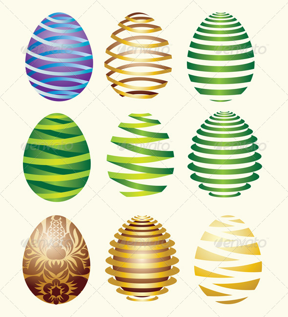 GraphicRiver Egg Easter Decorative 4126972