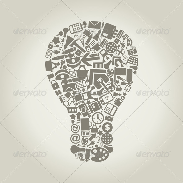 GraphicRiver Office Bulb 4126997