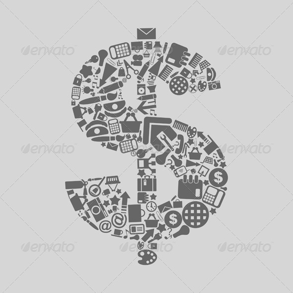 GraphicRiver Office Dollar 4126999