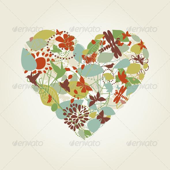 GraphicRiver Plant Heart 4127004