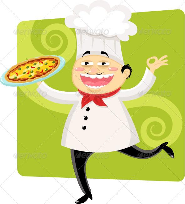 GraphicRiver Italian Chef 4127767