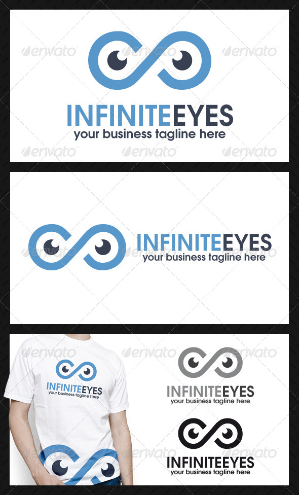 GraphicRiver Infinite Eyes Logo Template 4129107