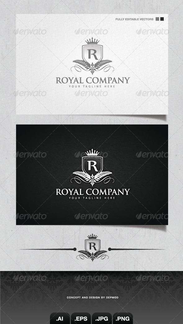 GraphicRiver Royal Company Logo 4058421