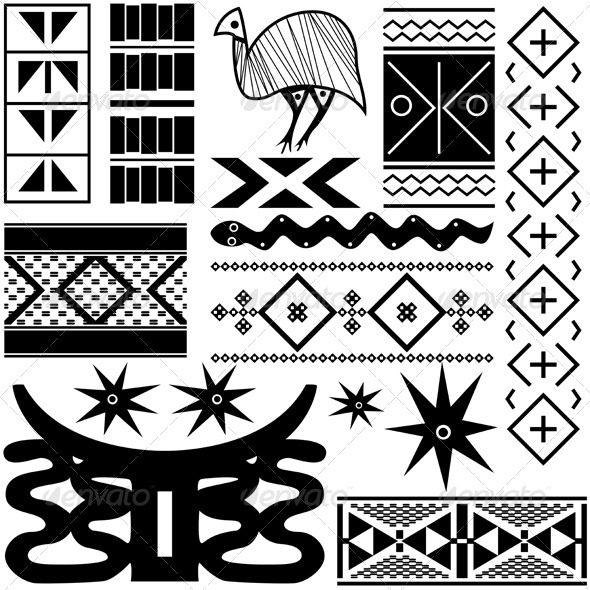 GraphicRiver Ancient African Pattern 4129591