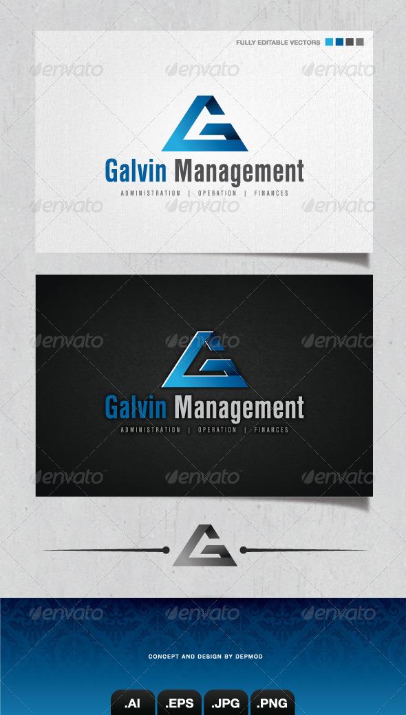 GraphicRiver Galvin Management Logo 4058443