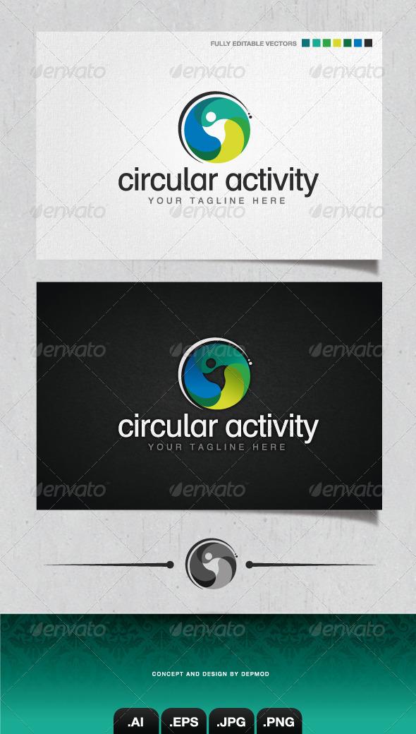 GraphicRiver Circular Activity Logo 4058482