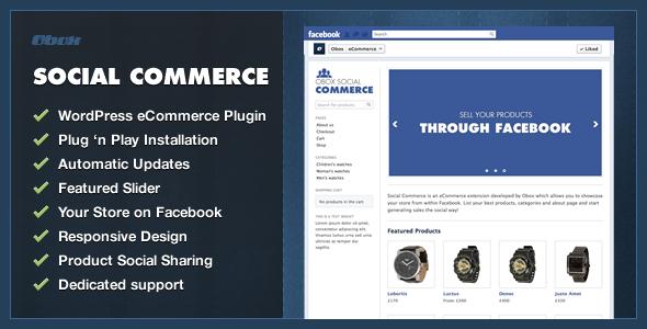 CodeCanyon Social Commerce WordPress Plugin 4131041