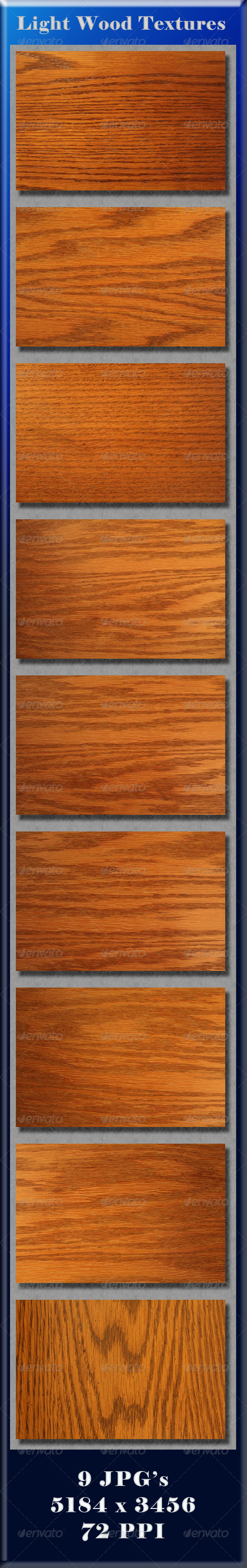 GraphicRiver Light Wood Textures 4131144