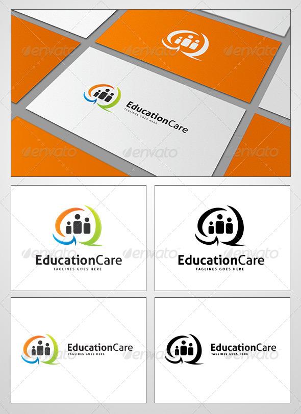 GraphicRiver EducationCare Logo Design 4131871