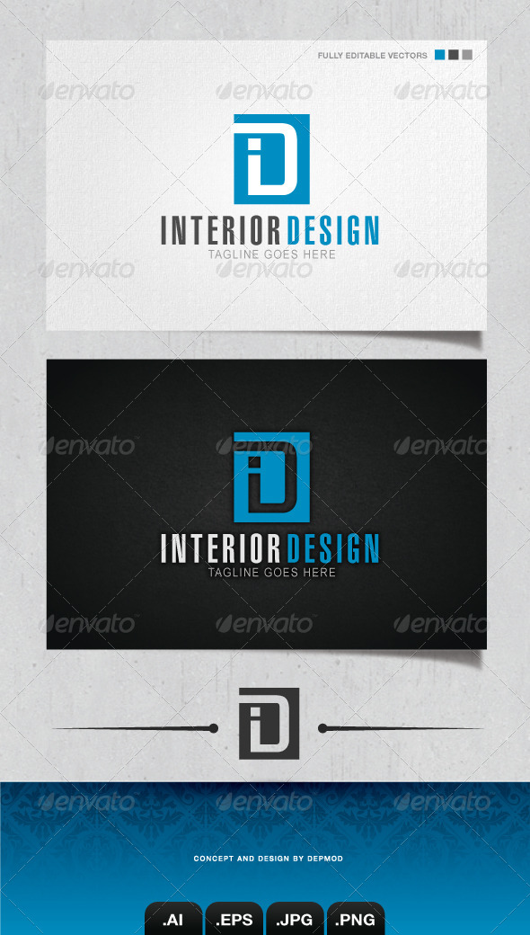 GraphicRiver Interior Design Logo 4133058
