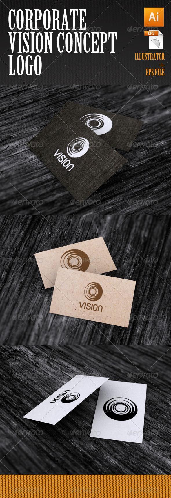 GraphicRiver Corporate Vision Concept Logo 4065151