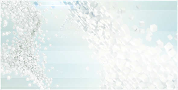 3D Particles Background 17