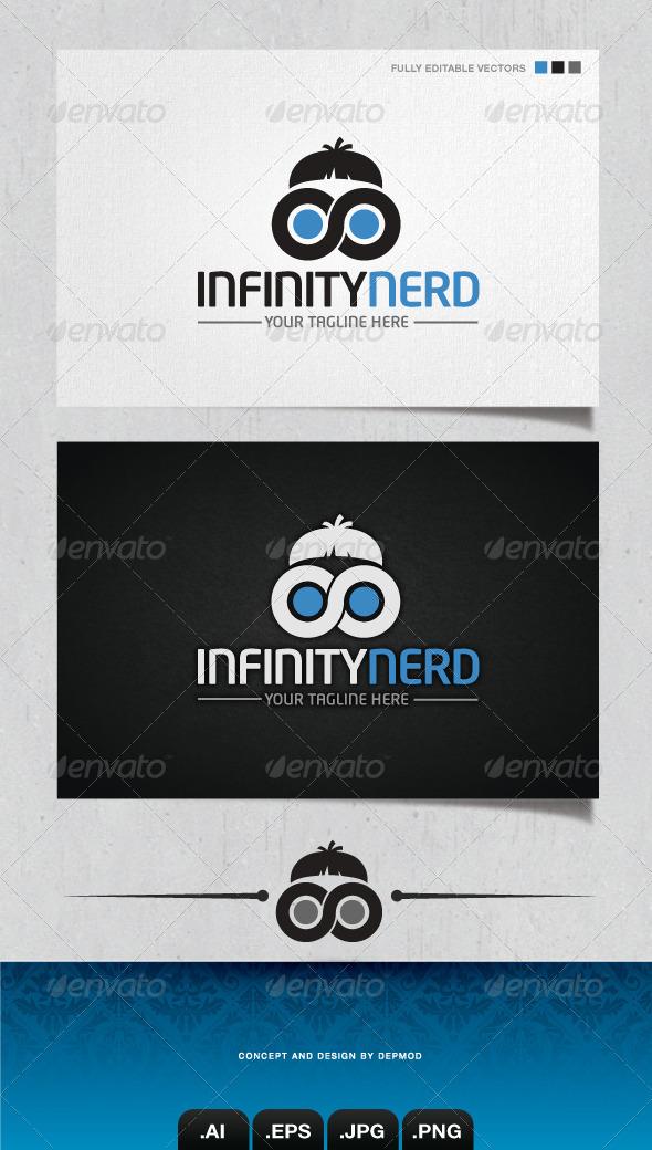GraphicRiver Infinity Nerd Logo 4133444