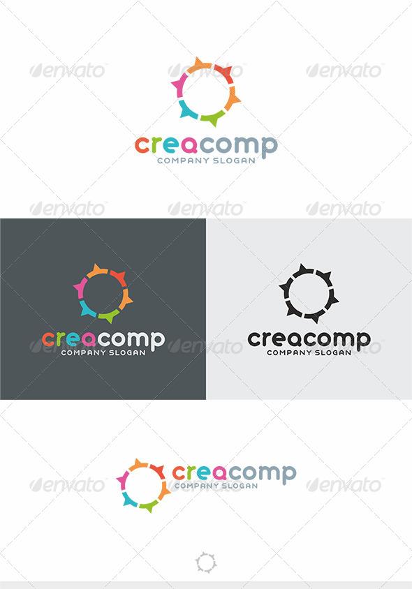 GraphicRiver Crea Comp Logo 4133734