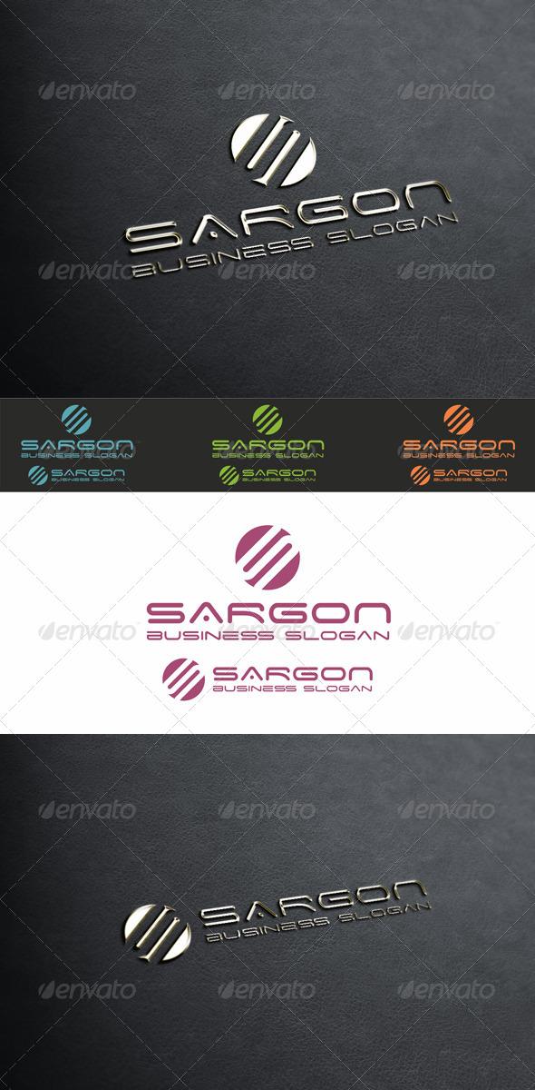 Sargon - Modern Letter S Logo - Letters Logo Templates